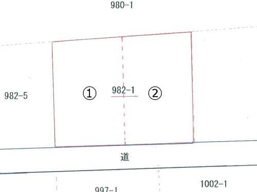 売地出雲市大社町北荒木字中分Bt333